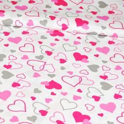 Srdce LOVE růžové
