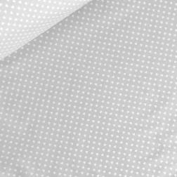 Drobná bílá srdíčka (6mm) na šedém podkladě