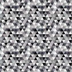 Trojúhelníky šedé a černé (2cm) vzor 1462