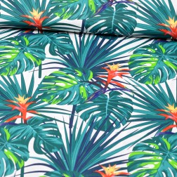 Exotické květy vzor 510