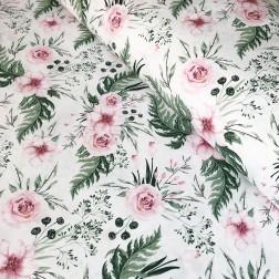 Růžové růže vzor 698