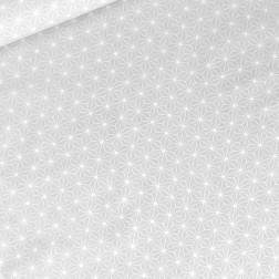 Hvězdy v geometrii na šedém podkladě vzor 762