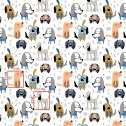 Pejsci šedí, modří....vzor 1357