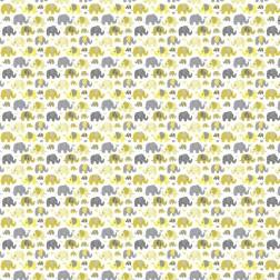 Žlutošedí sloni vzor 9111