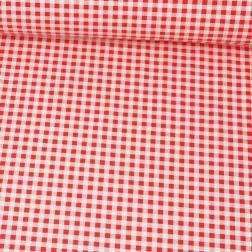 Červeno-bílá kostka (10mm) vzor 1503