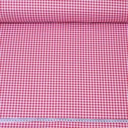 Červeno-bílá kostička (0,5 cm) vzor 706