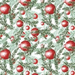 Vánoční koule ve větvičkách vzor 2122