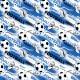 FOOTBALL GOOAL!  na modrém vzor 2173