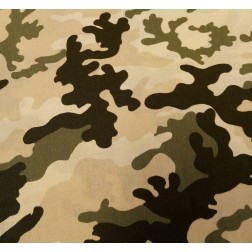 Maskáč béžovo- zelený vzor 9230