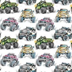 Monster truck vzor 9236