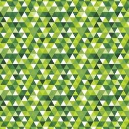 Trojúhelníky zelené (2cm) vzor 1829