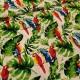 Barevní papoušci na palmových listech...vzor 5017