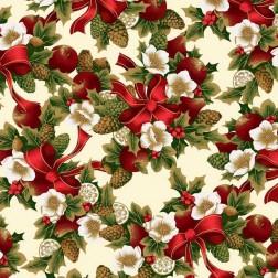 Vánoční kytice vzor 1418