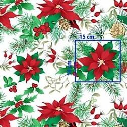 Vánoční hvězda vzor 5117