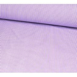 Drobný fialovobílý proužek 2/3mm
