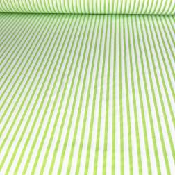 Limetkově zelenobílý proužek