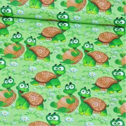 Želvičky na zeleném trávníčku